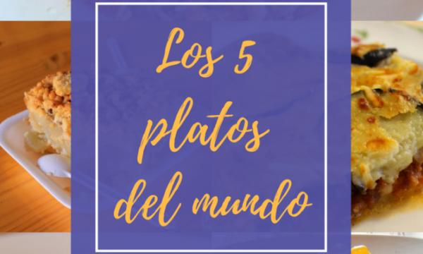 ¡5 platos internacionales para saltarse la dieta!