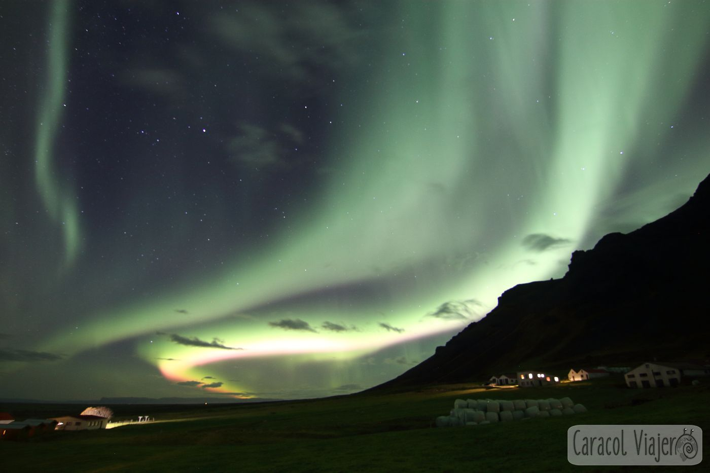 Islandia, northern lights