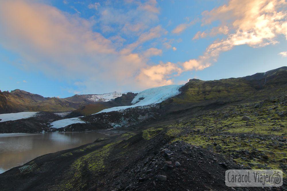Glaciar parque nacional de Skaftafell