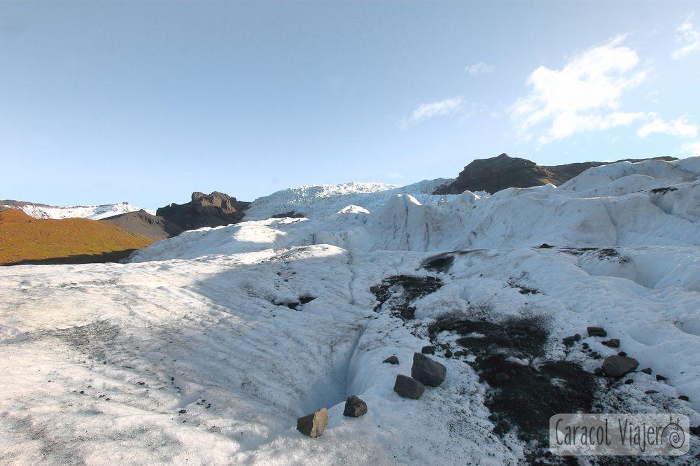Nieve en Islandia