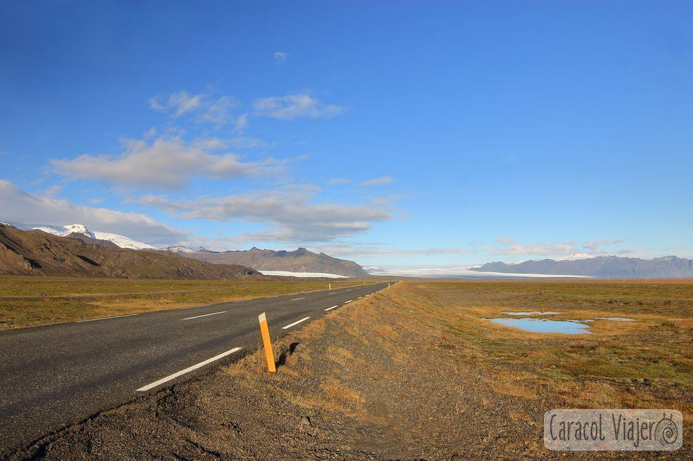Carreteras en Islandia