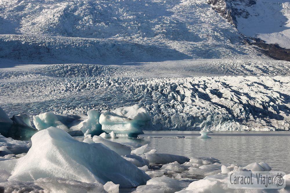 Itinerario de cueva de hielo en Islandia