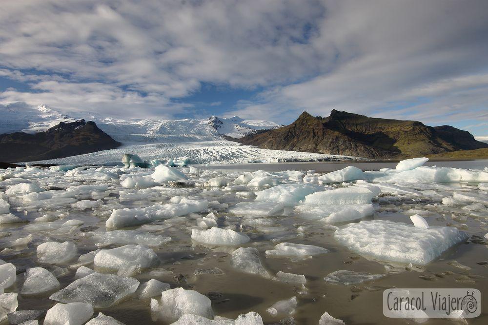 Fjallsárlón glaciar en Islandia