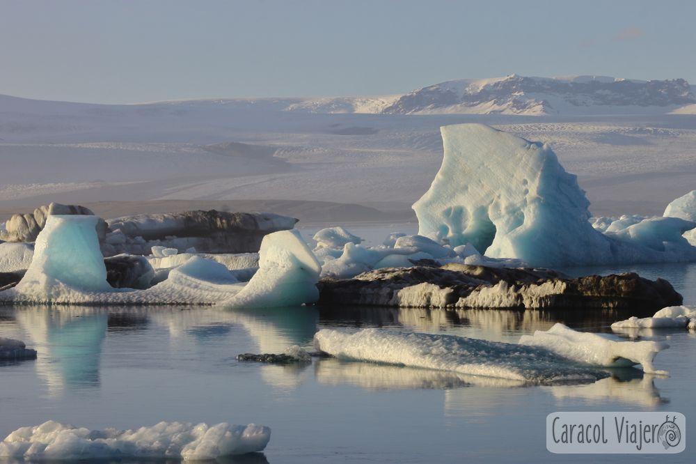 Jökulsárlón en Islandia - glaciar