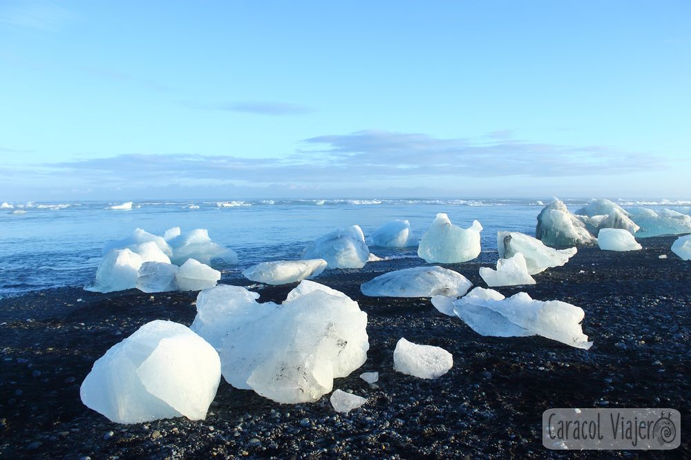 Jökulsárlón playa de hielo en Islandia