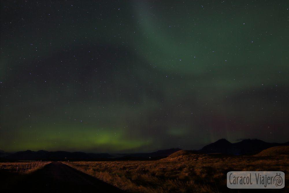 Islandia, auroras boreales