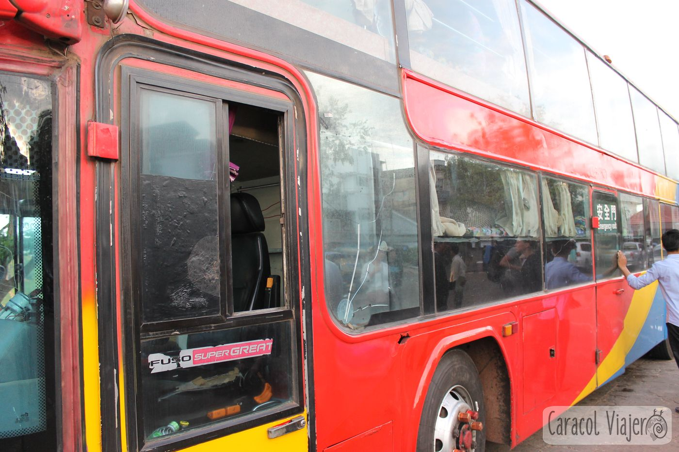 Laos bus VIP