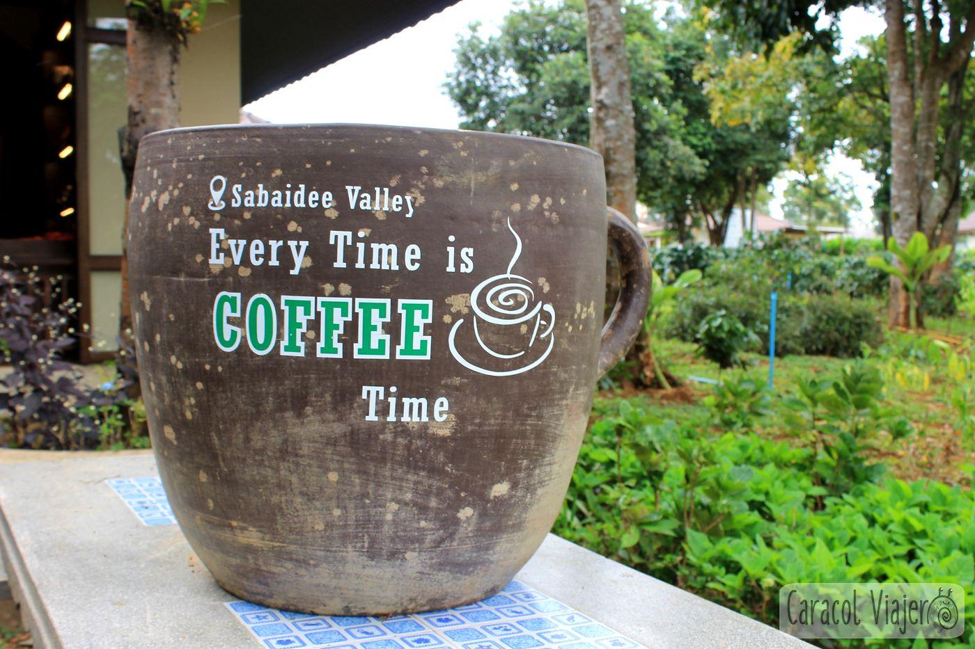 Café en Laos
