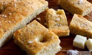 ¡Una receta fácil para preparar focaccia italiana!