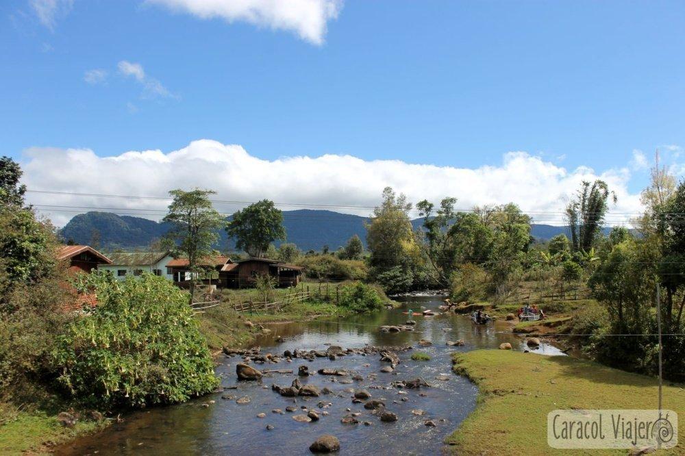 Bolaven Plateau en Laos paisajes