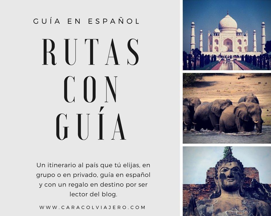 Rutas con guía en español