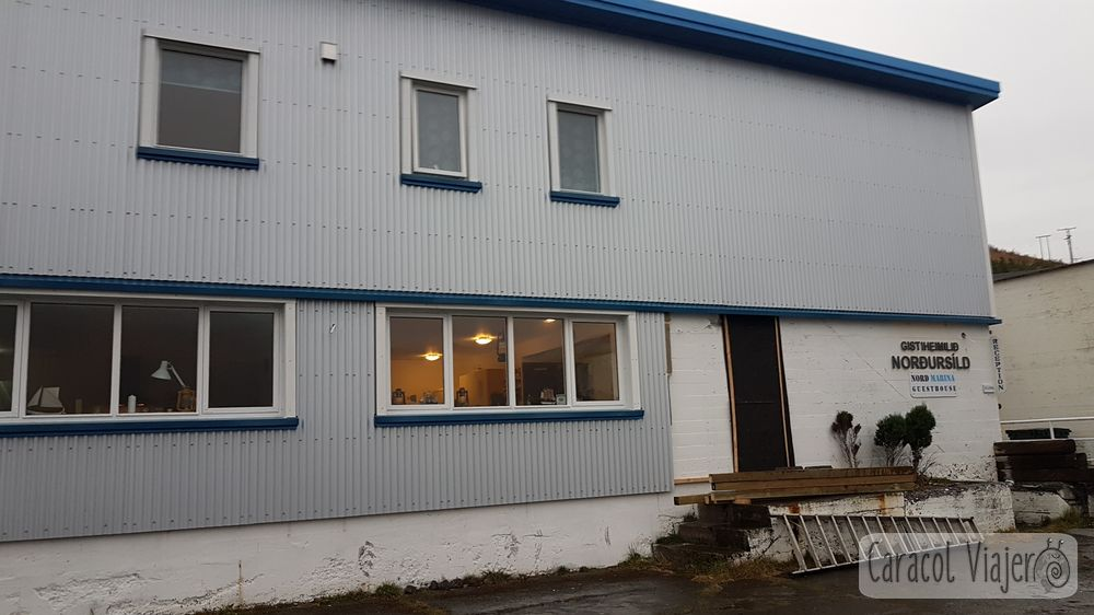 Nord Marina Guest House alojamiento fiordos islandeses