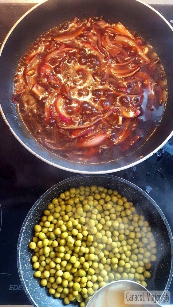 Bangers and mash - preparación receta