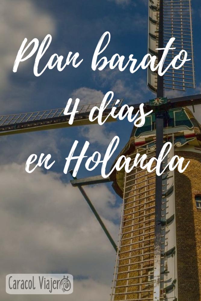 Destinos para Semana Santa - 4 días en Holanda