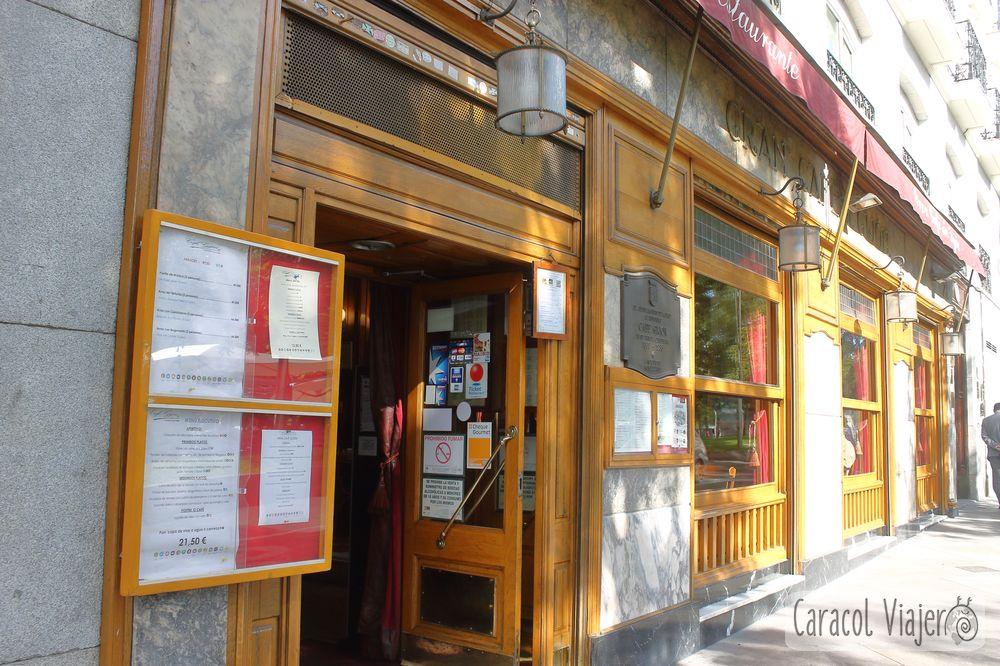Café Gijón Madrid