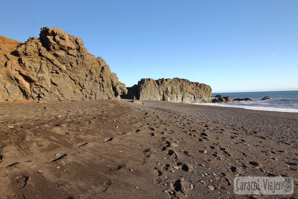 Fiordos islandeses ruta, playa negra