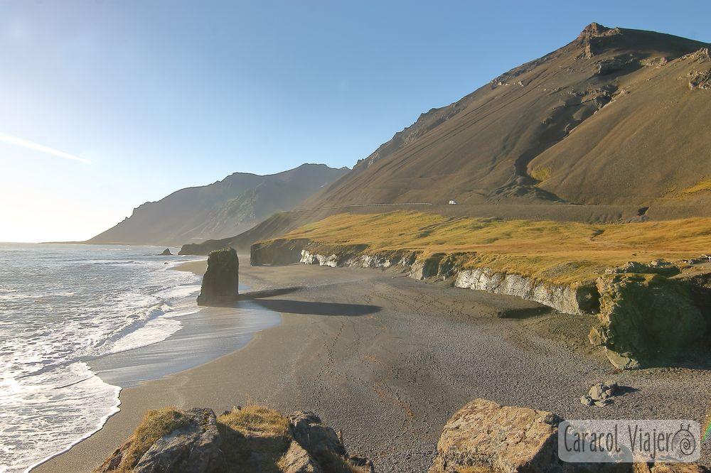 Fauskasandur vistas Islandia,