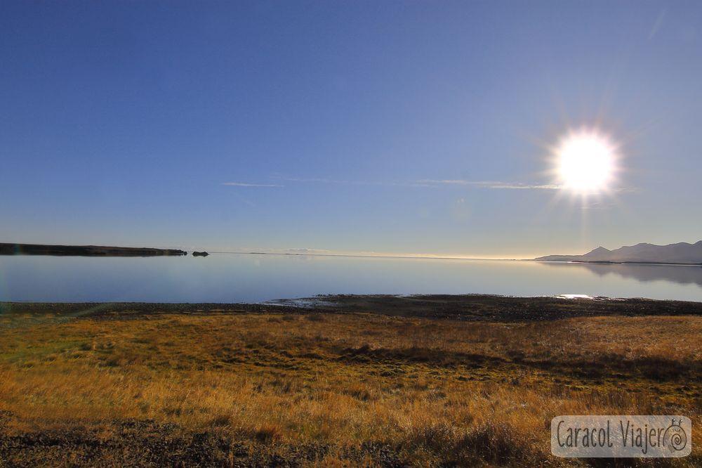Sol en Islandia