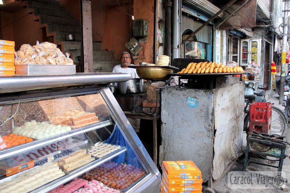 Aperitivos en India