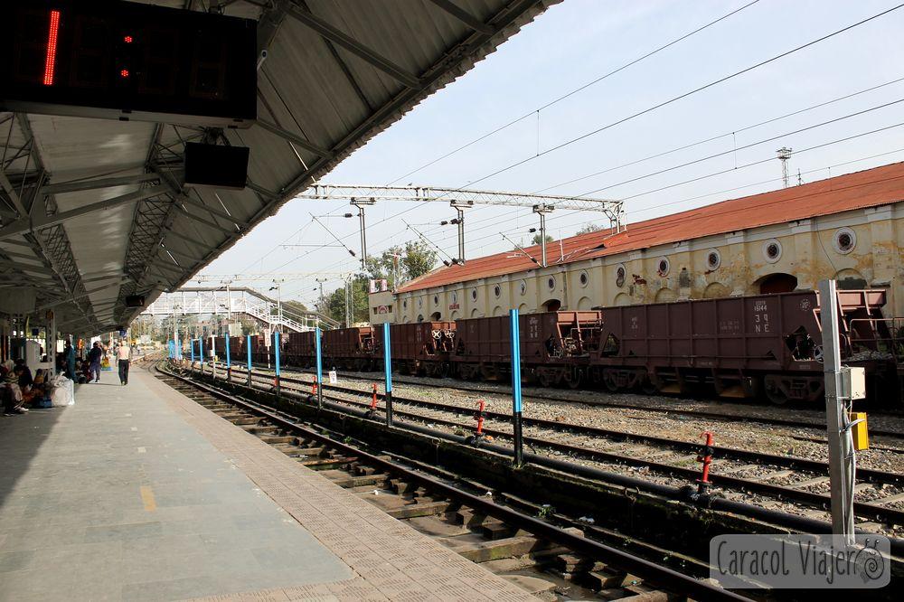 Estación de tren de Phatankot para Amritsar
