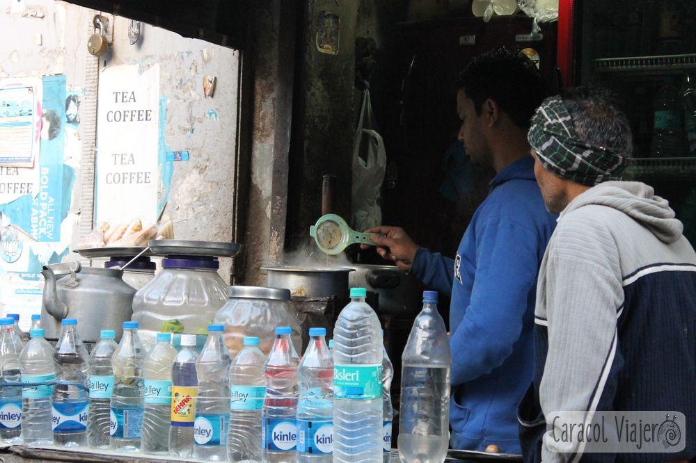 Chai es té en la India