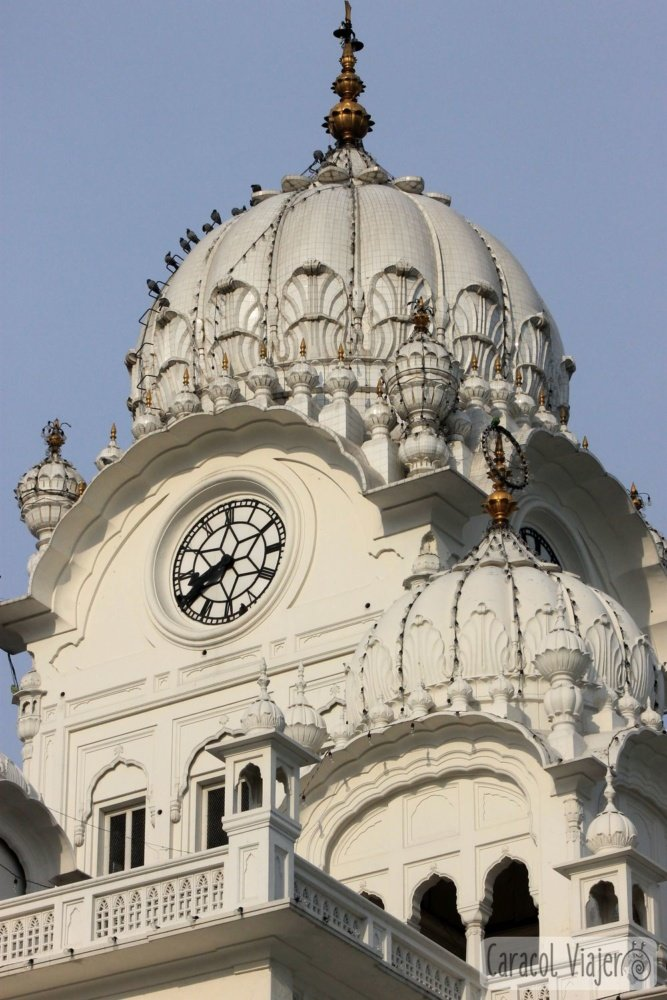 Darshani Darwaza y la torre del reloj