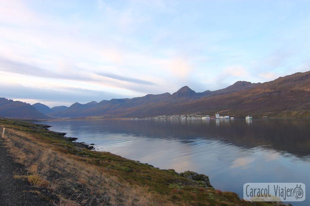 Fáskrúðsfjörður, fiordos islandeses ruta ring road