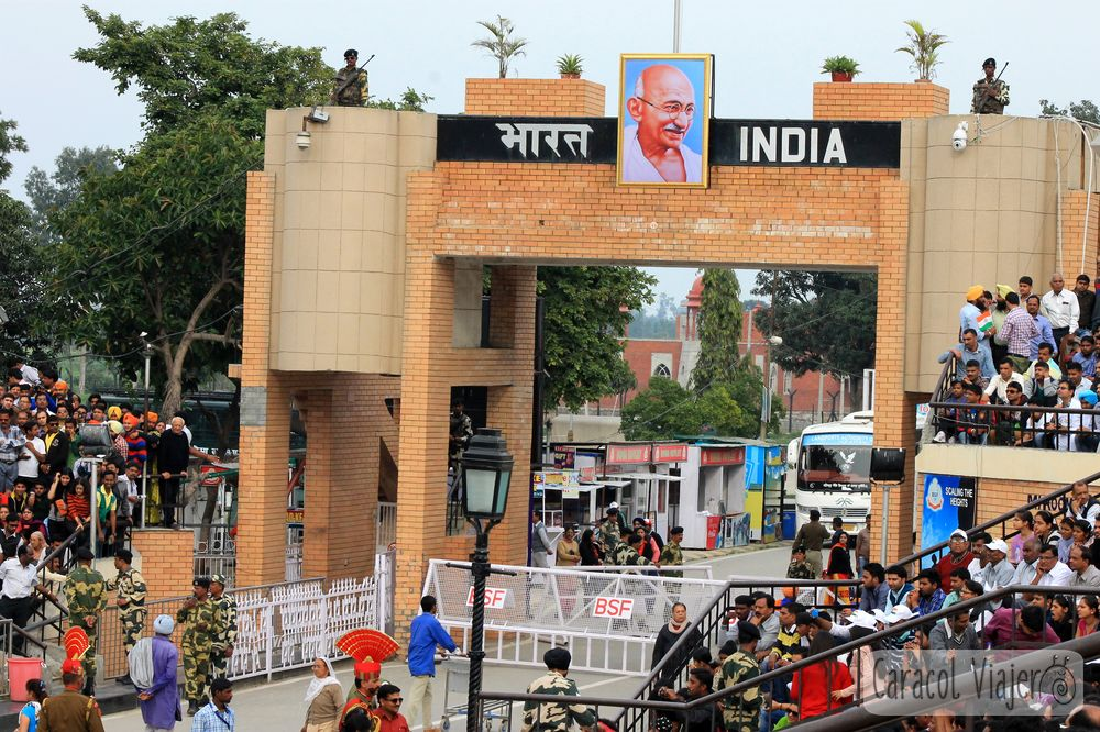 Puerta hindú frontera India