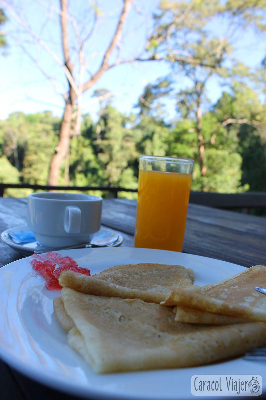 Desayuno energético crepes Laos