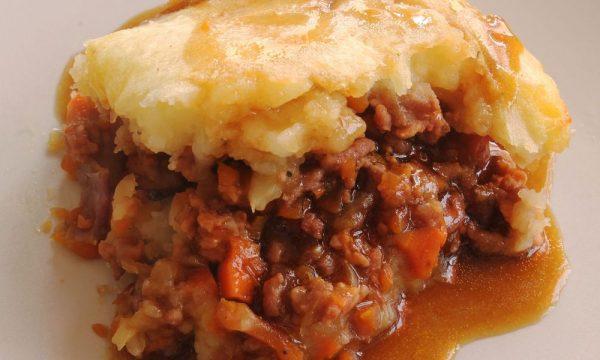 Pastel de carne irlandés | Hunter's Pie
