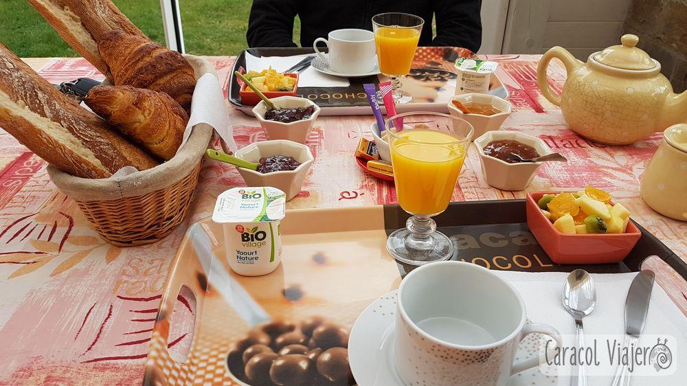 Desayuno en Francia