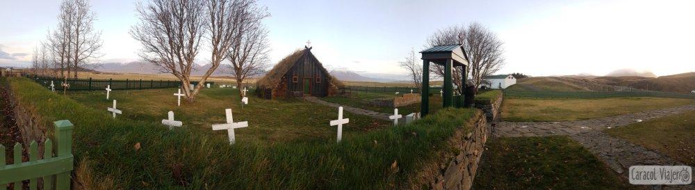 capilla Islandia