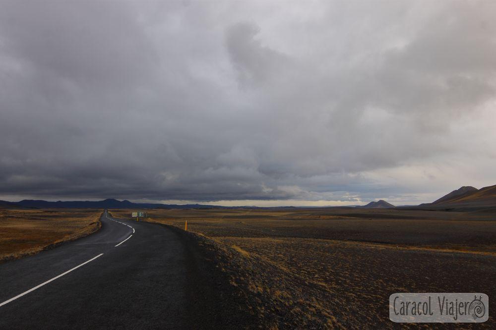 Carreteras en Islandia noreste