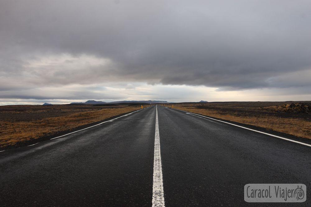 Islandia carreteras del norte