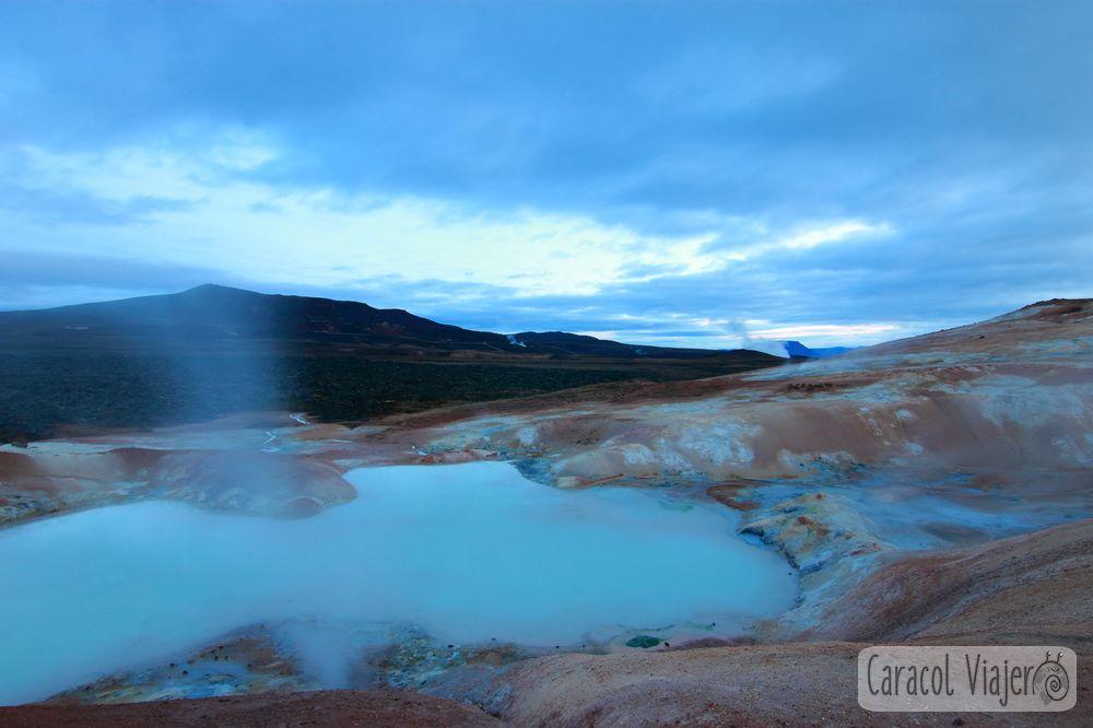 Leirhnjúkur volcán Islandia