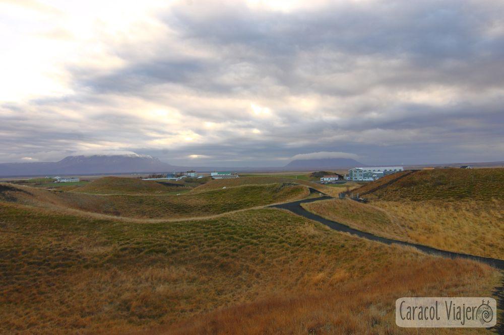 Skukutðagígar volcánica Islandia