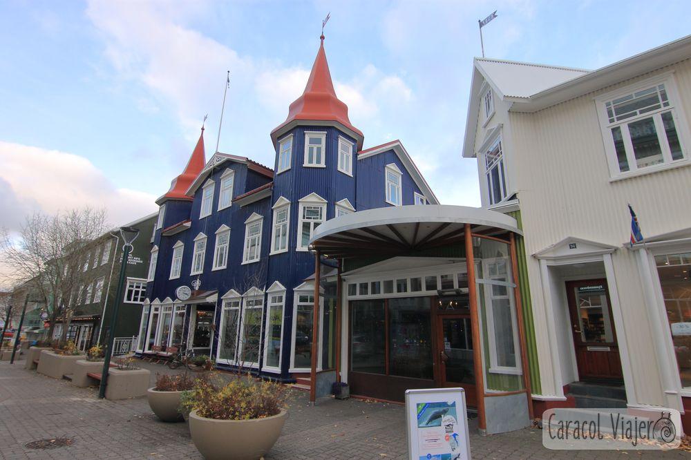 La cafetería en Akureyri