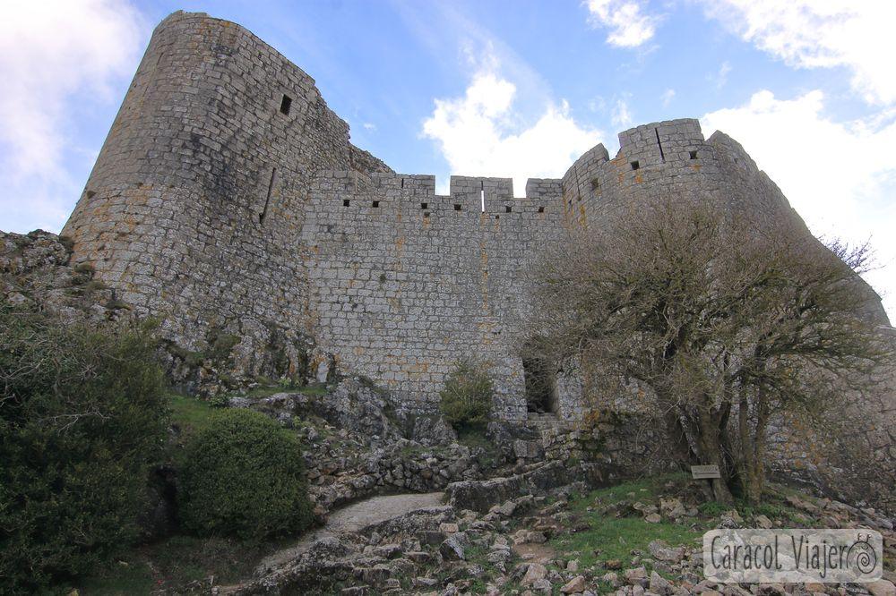 Interior castillo Peyrepertuse