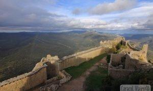 Visitar el castillo de Quéribus y el castillo de Peyrepertuse