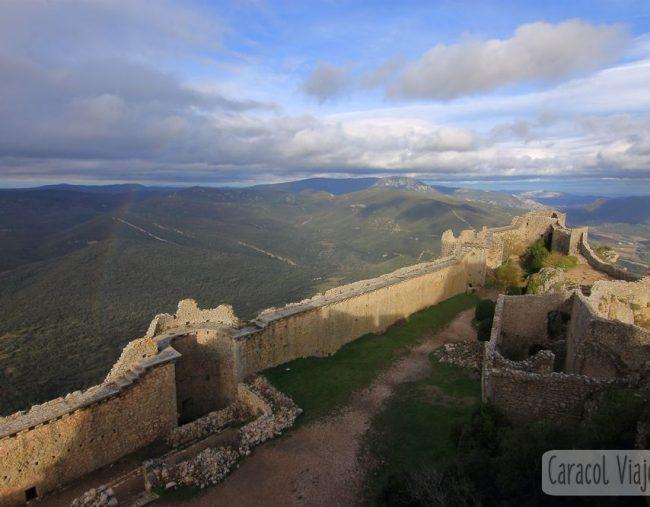 Ruta de los cátaros – Castillo de Quéribus y castillo de Peyrepertuse