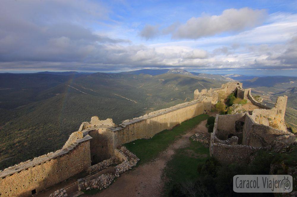 Castillo de Peyrepertuse interior