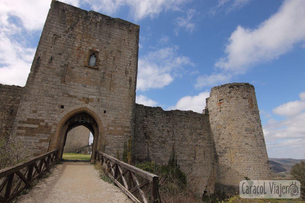 Visitar el castillo de Puivert - sur de Francia