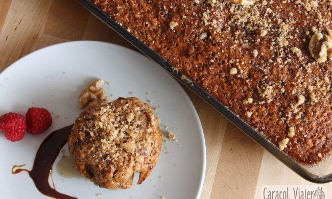 Karidópita, la receta del pastel de nueces griego