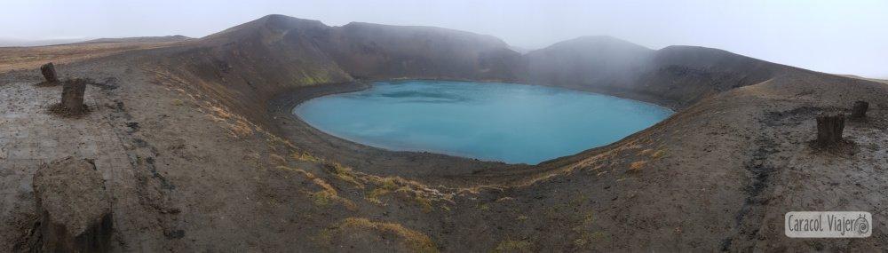 Viti cráter Islandia