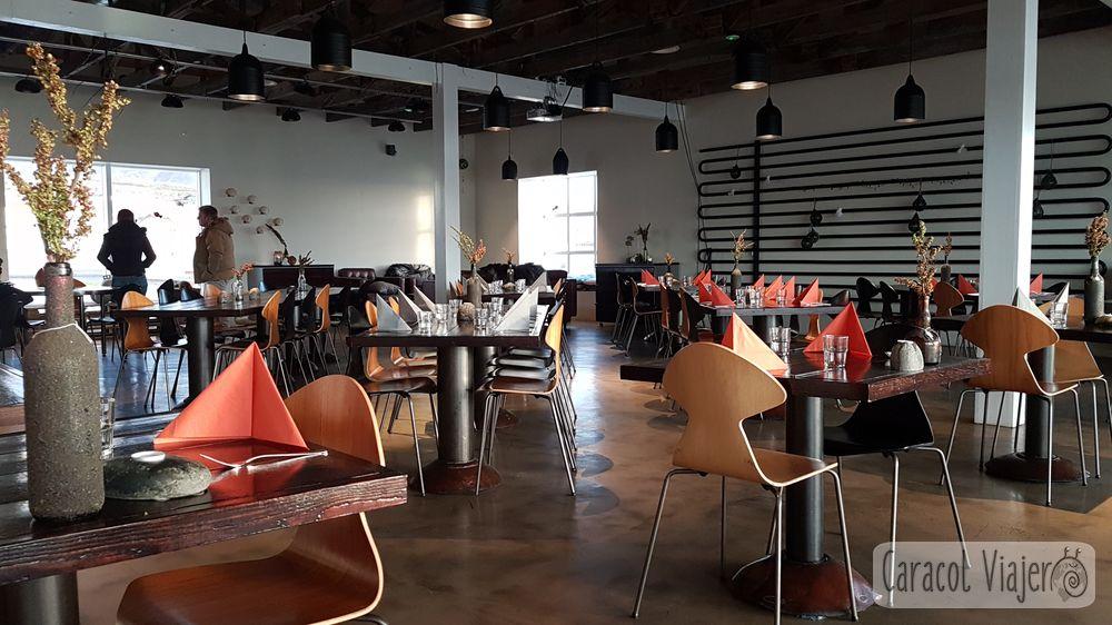 Hvámmnstangi bar restaurante Islandia