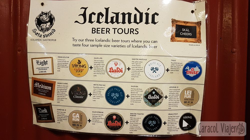 Beer tour: qué hacer en Reikiavik