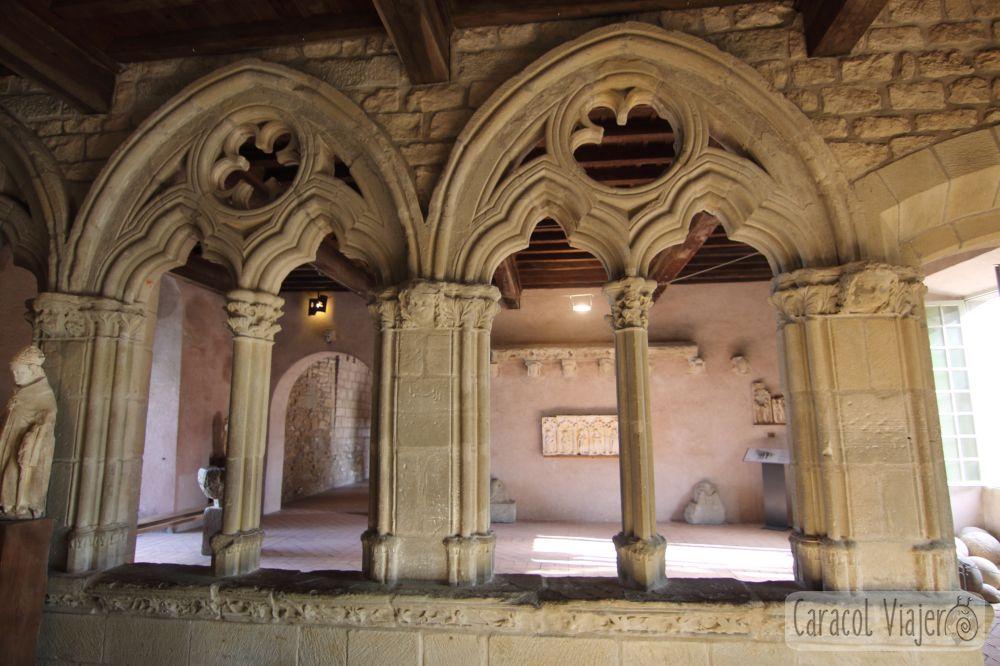 Castillo de Carcasona, interior