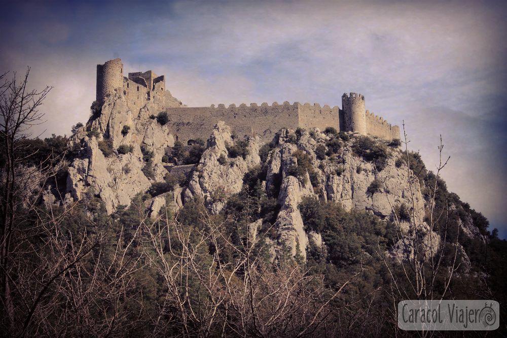 Visitar el castillo de Puilaurens- ruta de los cátaros