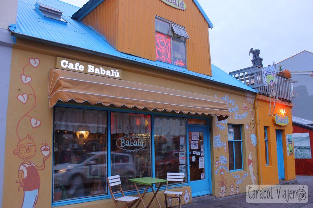Cafetería en Reikiavik
