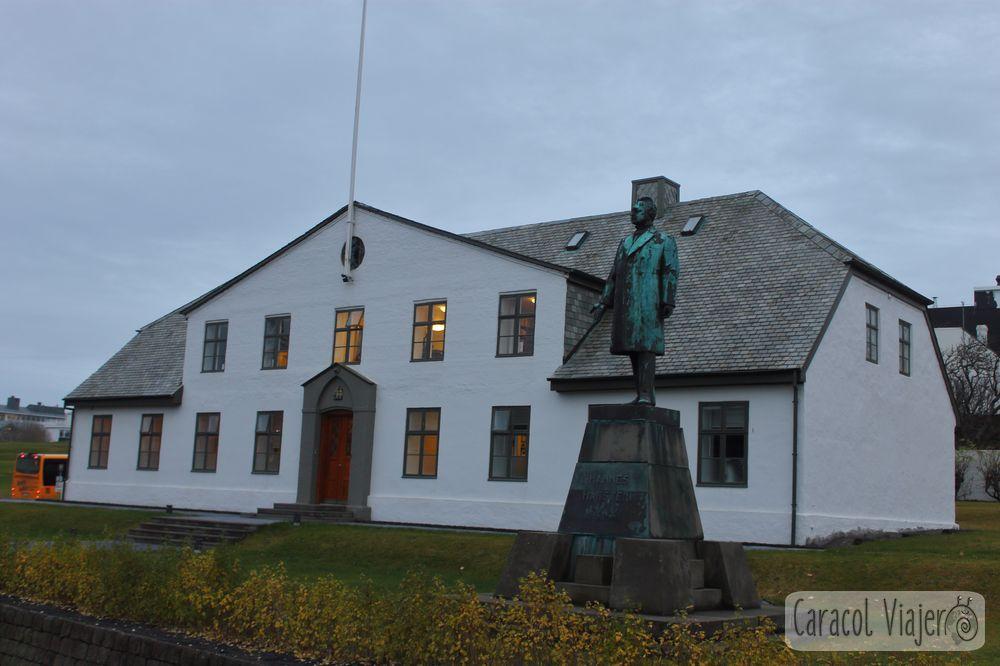 Oficina del primer ministro islandés